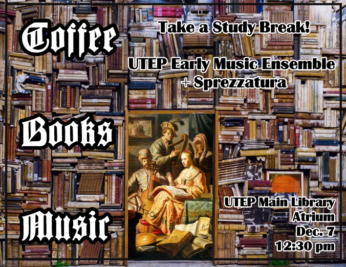 library concert poster fall 2018